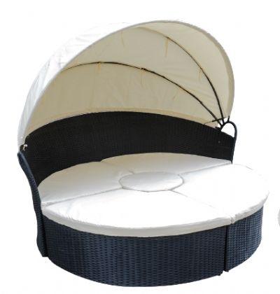 מיטת שיזוף קונכיה מודולארית- צוות גדרון
