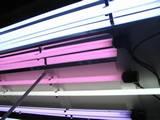 גוף תאורה לאקווריום הבנוי במכסה משולב בכתר, גוף תאורה משולב מורות T5 עם אנדקאפ אטום למים, התאורה לאקווריום אפשרית עם גופי תאורה לד (LED). לדף הבית http://www.monodag.com