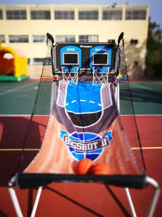 משחק כדורסל אלקטרוני להשכרה