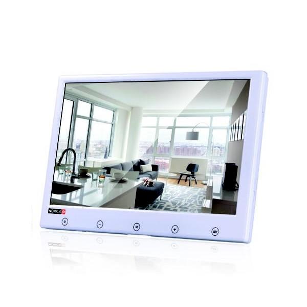 מוניטור מסך דק דיגיטלי עם כפתורי מגע Provision PR-TFT7P-W TFT LCD AV/2 VGA HDMI