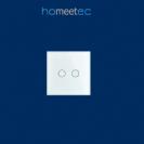 מתג מגע לחצן כפול (אירופאי 55) Homeetec