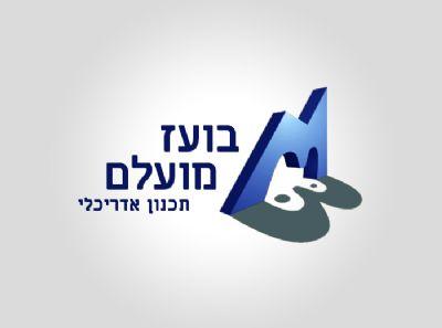 עיצוב לוגו בועז מועלם - סטודיו גלית מועלם