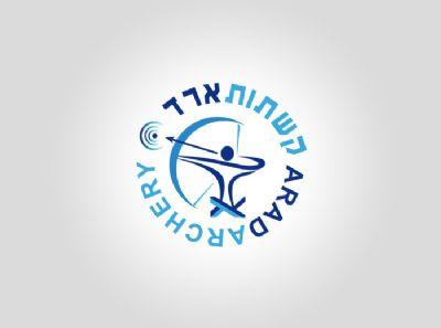 עיצוב לוגו קשתות ארד - סטודיו גלית מועלם