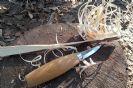 סכין גילוף mora 120 - הדגם הקצר יותר
