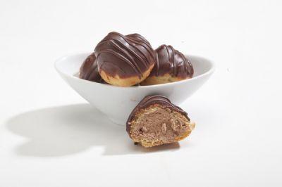 מיני פחזניות שוקולד