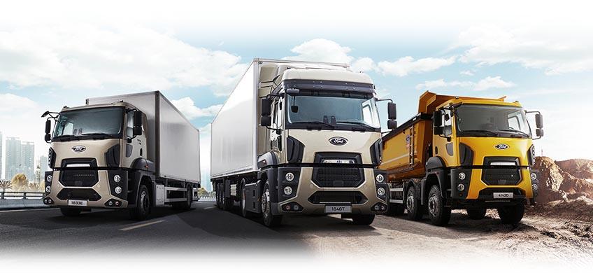 צילום תדמיתי של משאיות פורד קרגו