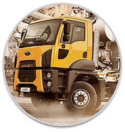 משאית פורד 4142M מערבל בטון