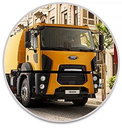 משאית פורד 1833DC/LR