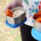 קופסת אוכל קטנה 100% נירוסטה + מכסה סיליקון