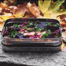 קופסת נירוסטה מלבנית למזון 100% נירוסטה