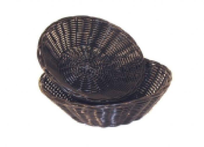 סלסלה ללחם שחור עגול