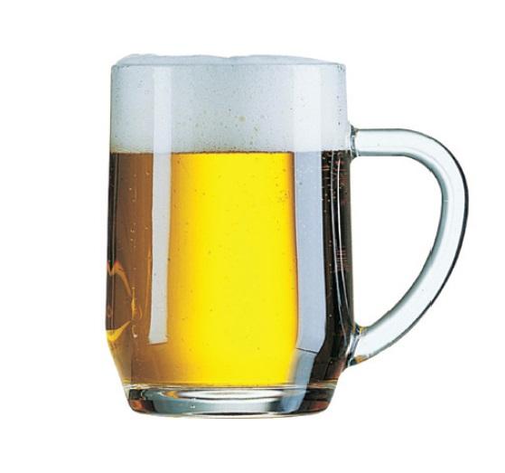 כוס בירה פאב