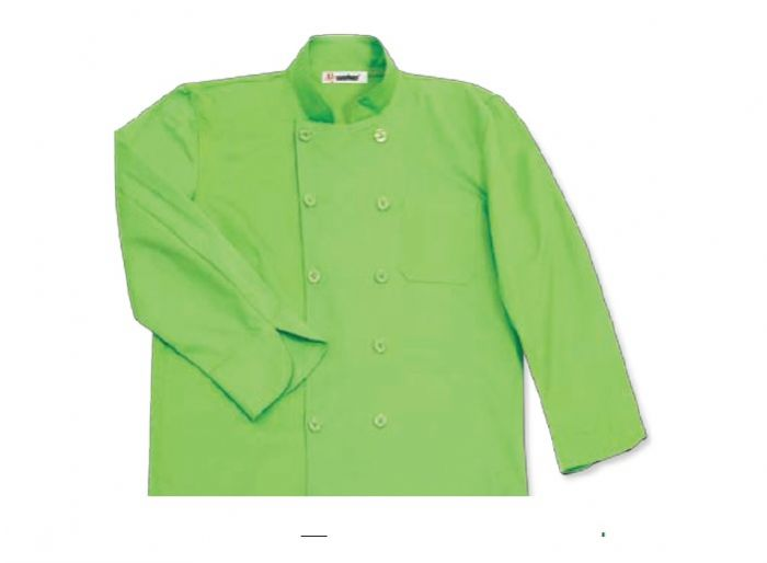 ג'קט שף ירוק תפוח