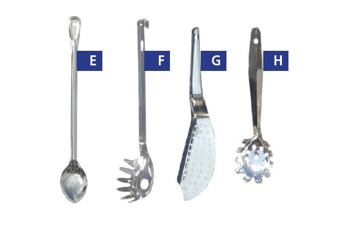 כלי בישול שונים