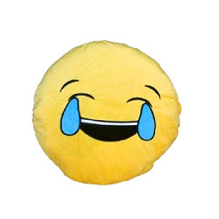 כרית אימוג'י בוכה מצחוק
