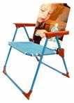 כסא מתקפל עם ידיות לילד