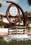 """""""רוטרי"""", 2005, ברזל, אלומיניום ואבן, 2.5 מ´ גובה, כיכר, באר יעקב."""
