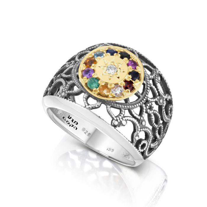 טבעת אבני החושן תחרה