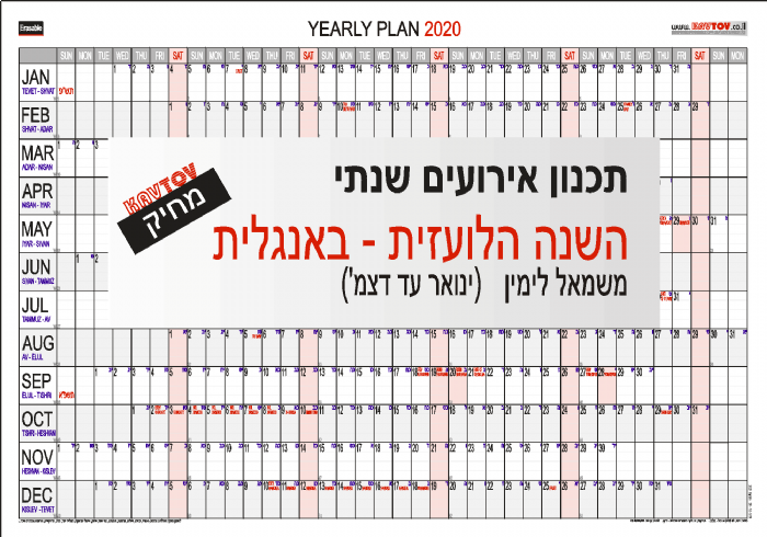 YEARLY  PLAN  2020