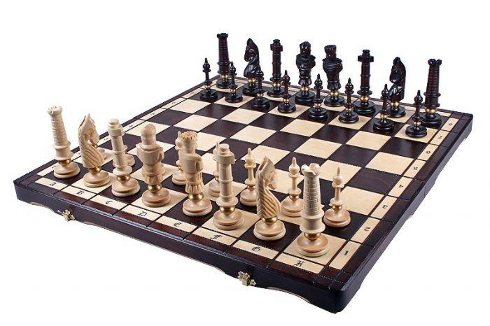שחמט עץ רויאל ענק