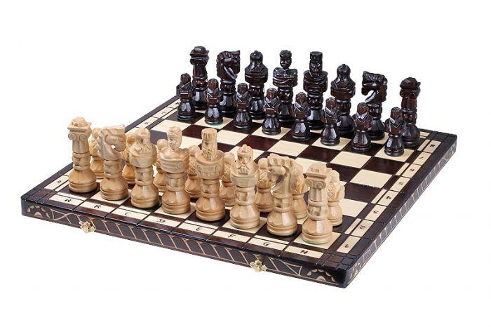 שחמט עץ גלדיאטור ענק