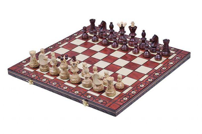 שחמט עץ אמבסדור