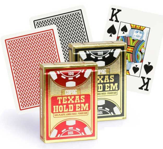 קלפים לפוקר טקסס הולדם - קופאג