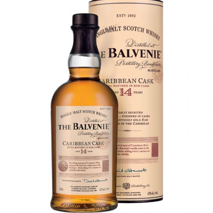 """תמונה של וויסקי בלוויני 14 """"קאריביאן קאסק"""" Balvenie Whisky 14yo Caribbean Cask"""
