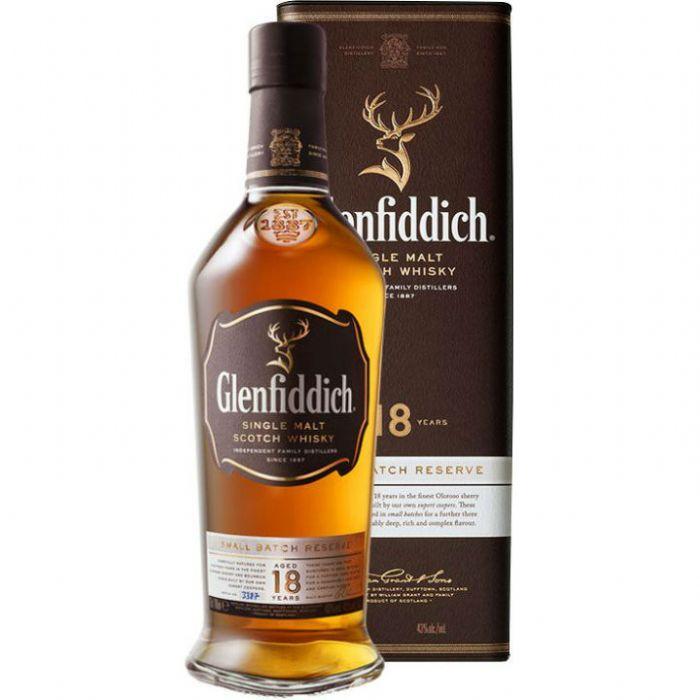 תמונה של וויסקי גלנפידיך 18 סמול באץ' רזרב Glenfiddich Whisky 18yo Small Batch Reserve