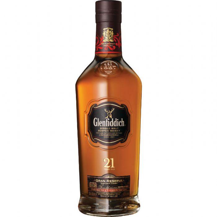 תמונה של וויסקי גלנפידיך 21 גראן רזרבה Glenfiddich Whisky 21yo Gran Reserva