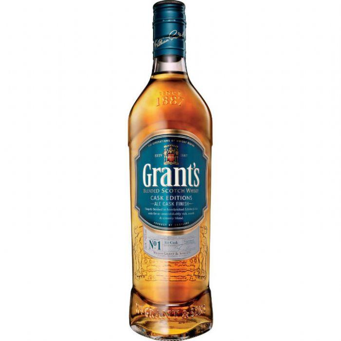תמונה של וויסקי גרנטס אייל קאסק פיניש Grants Whisky Ale Cask Finish