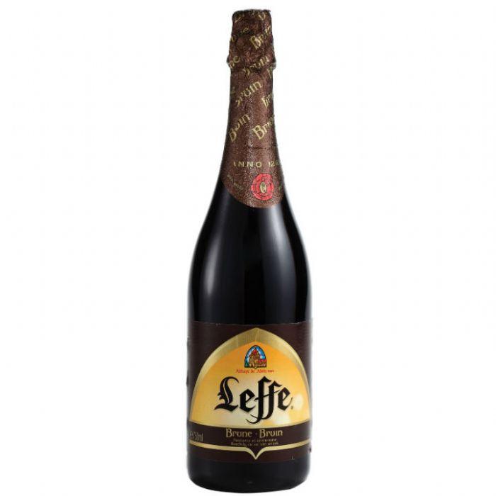 תמונה של בירה לף ברון Leffe Brune