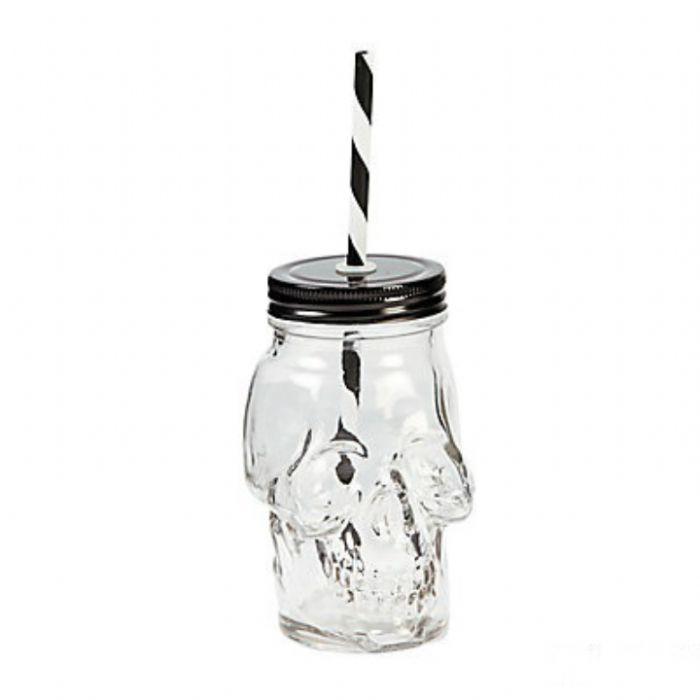 תמונה של כוס צנצנת גולגולת