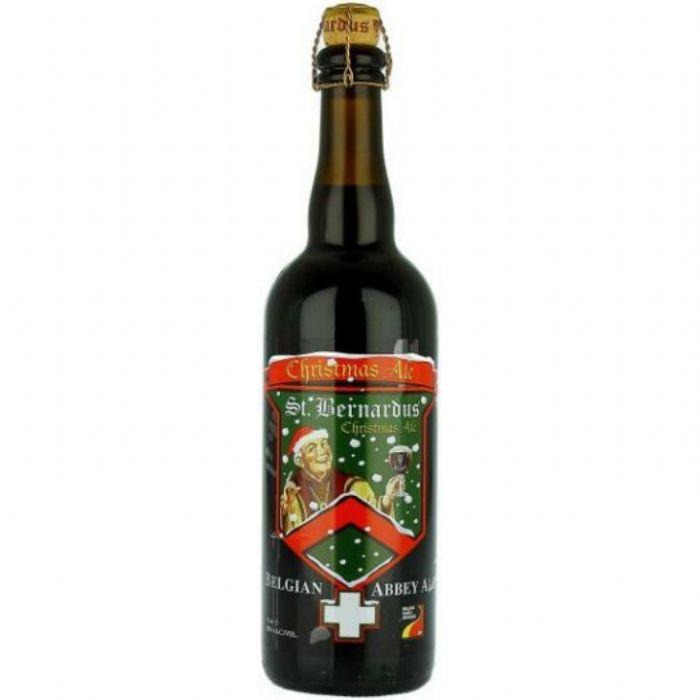 תמונה של סנט ברנרדוס כריסמס אייל St. Bernardus Christmas Ale 750ml