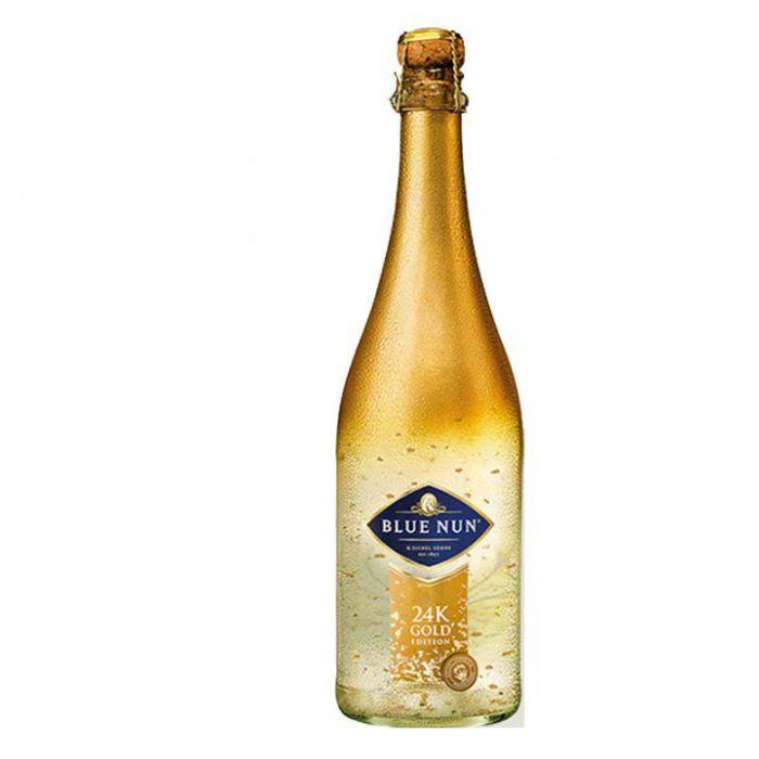 תמונה של בלו נאן מבעבע מהודרת זהב Blue Nun Sparkling gold Edition