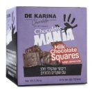 Chocolate Mania ריבועי שוקולד חלב עם שקדים מלוחים