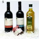 5 מארז יין, חרוסת ושמן זית