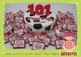 עוגה ועוגיות להפקה של 101 כלבים וגנבים