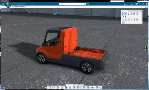 דאסוסיסטמס מאפשרת למעבדת החדשנות של רנו לערוך ניסוי באמצעות רכב חשמלי