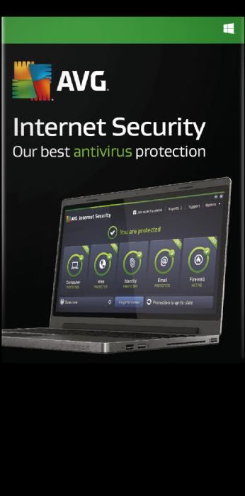 AVG אבטחת אינטרנט