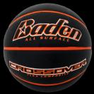כדורסל עור-חוץ מקצועי  - בצבע שחור מיוחד - BADEN SPORTS CROSSOVER