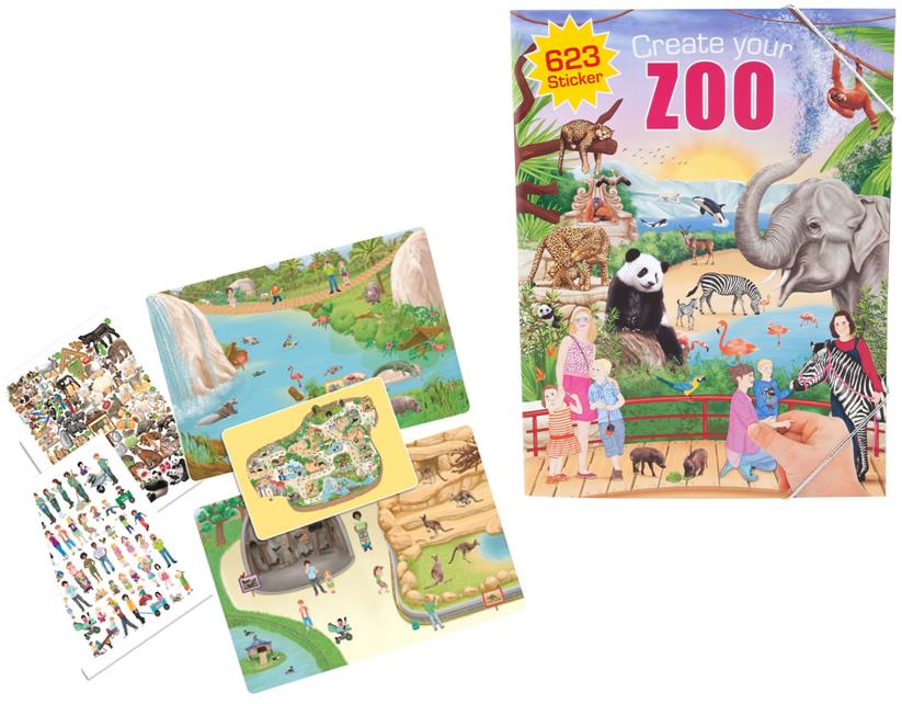 עיצוב גן חיות, create your zoo