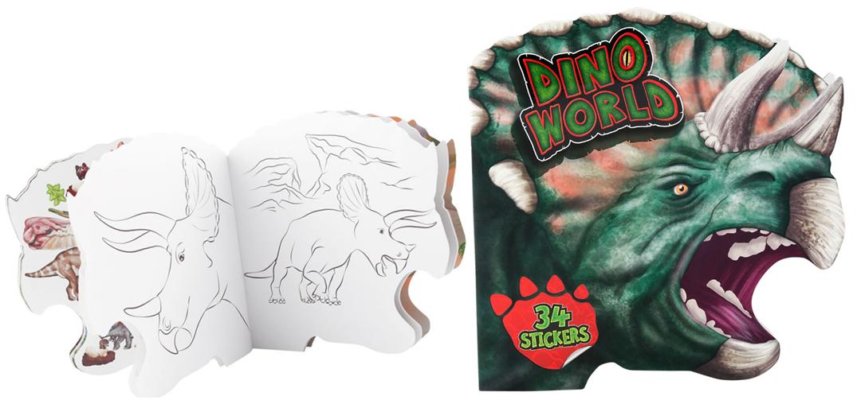 עיצוב דינוזאורים, dino world