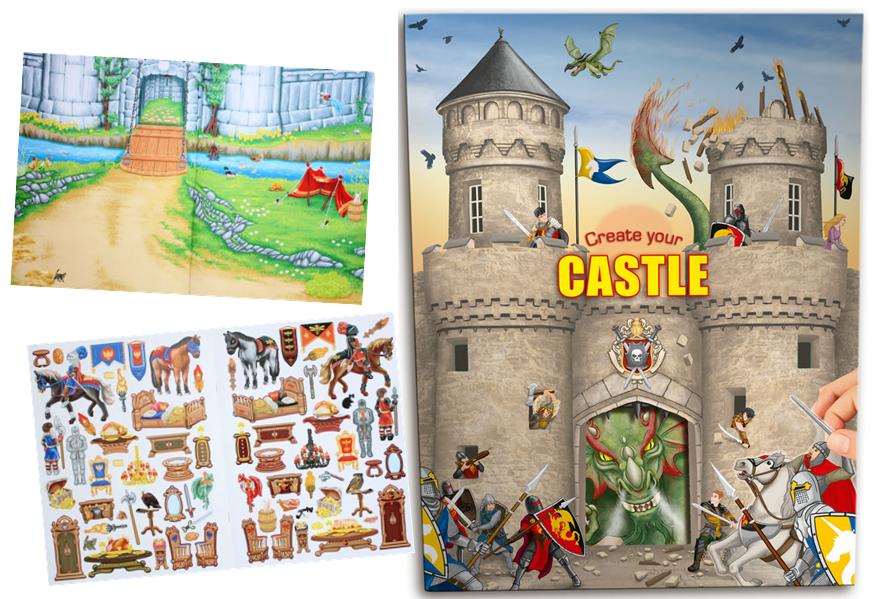 עיצוב טירה, creatr your castle