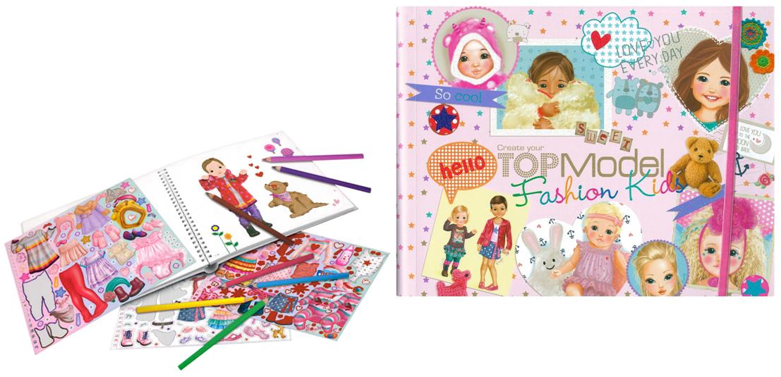 טופ מודל ילדים, top model kids fashion, 7981