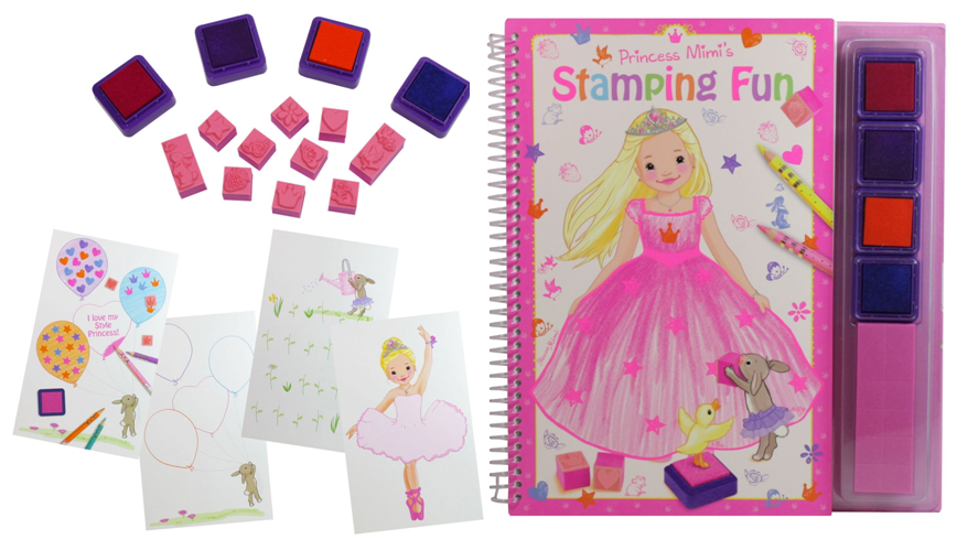 8327 נסיכה מימי ערכת חותמות Princess Mimis Stampin