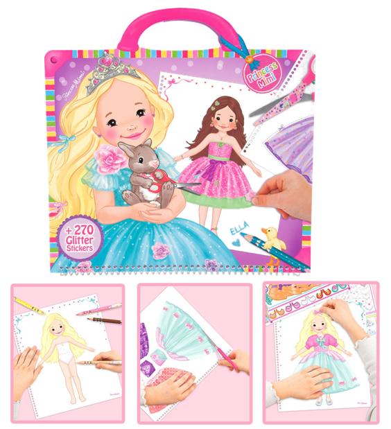 8428 הנסיכה מימי עיצוב שמלות - Princess Mimi