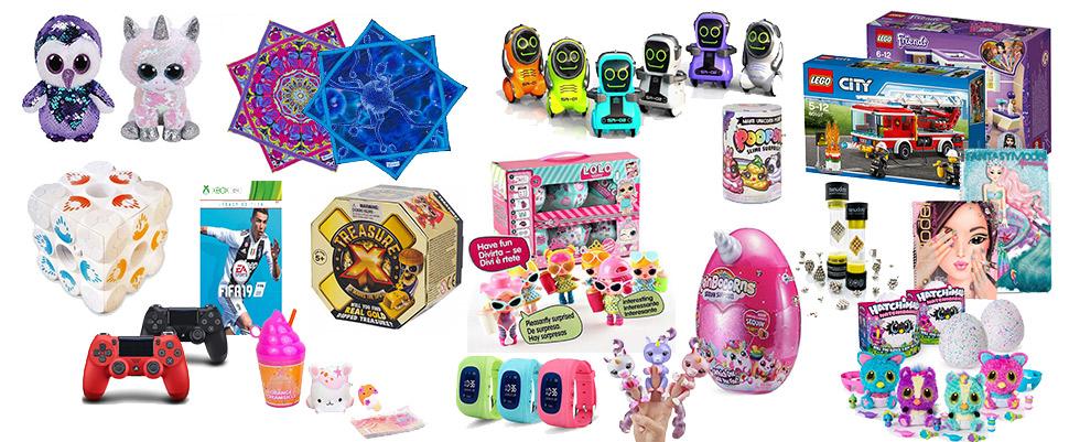 צעצועים, משחקי קופסא, בובות
