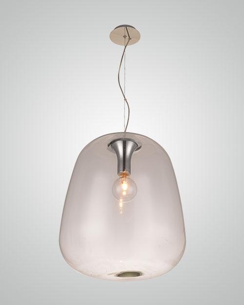 מנורת תליה זכוכית אגס