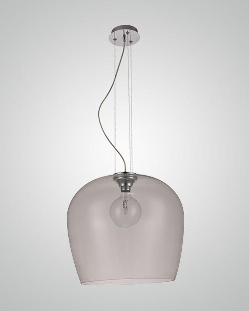 מנורת תליה זכוכית מעוגלת